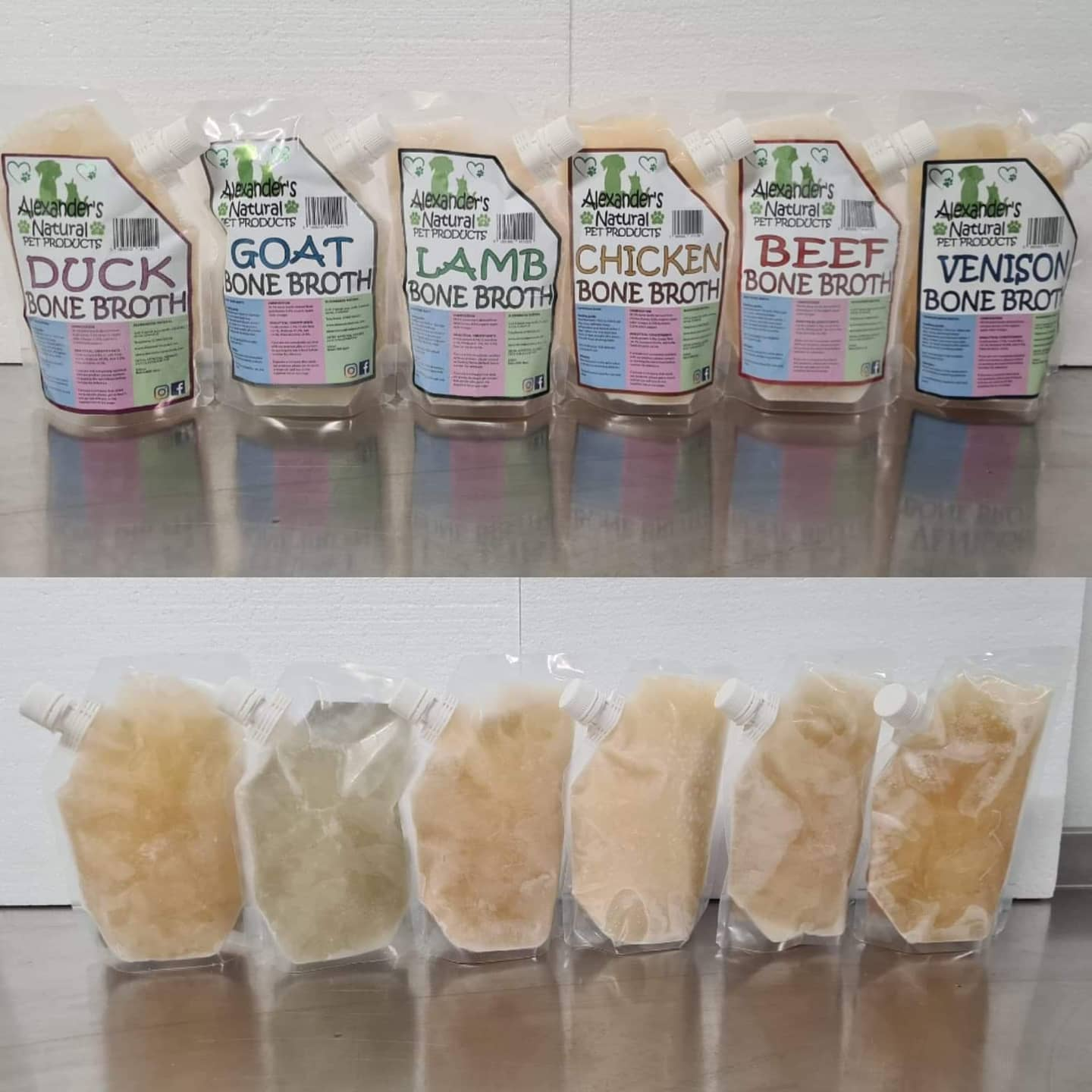 broth pouches
